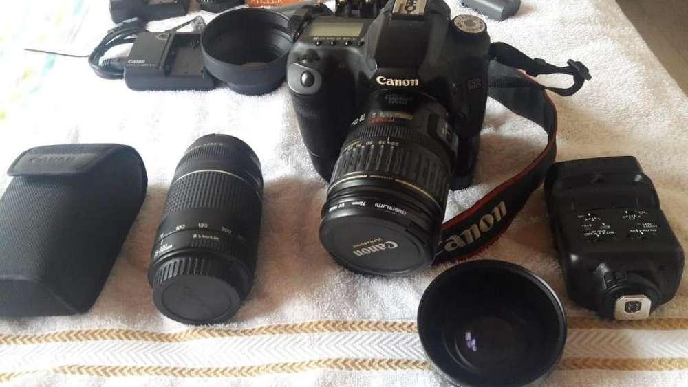 Camara CANON 50 D - Equipo Fotografico en Excelente Estado