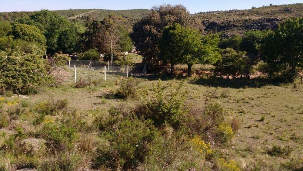Huerta Grande Escritura totalmente financiado rio vista a las sierras de cordoba