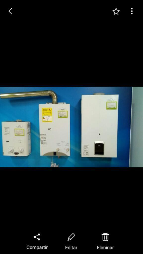 Calentadores de Agua a Gas Haceb