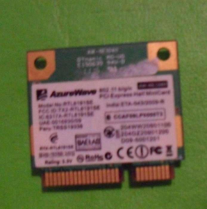 PLACA <strong>wifi</strong> Netbook Bangho B X0x1 RTL8191SE