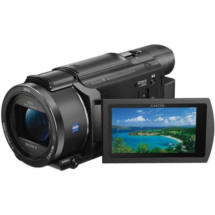 Filmadora Sony FDR AX53/B 4K HD