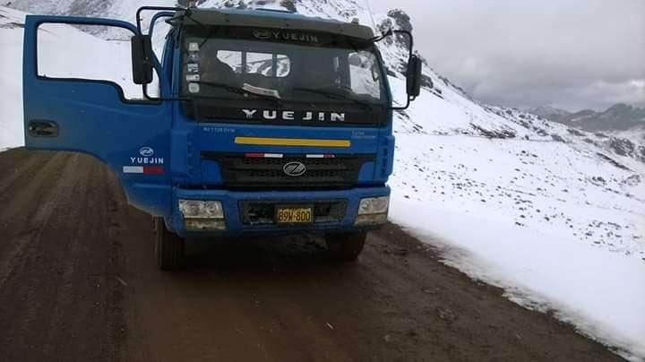 Camion yuejin 2011 en chasis