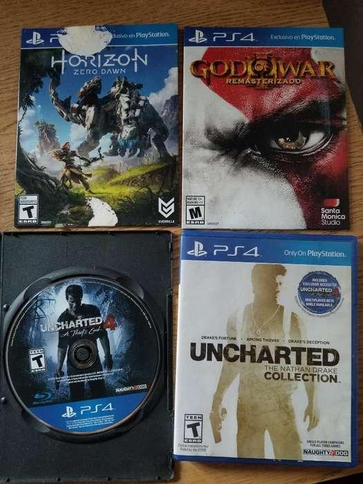 Vendo Juegos Playstation 4