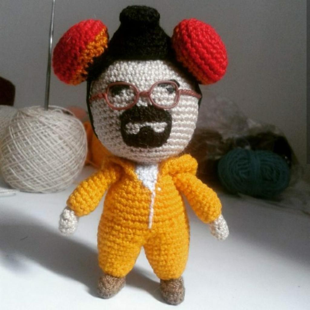 Muñeco Amigurumi