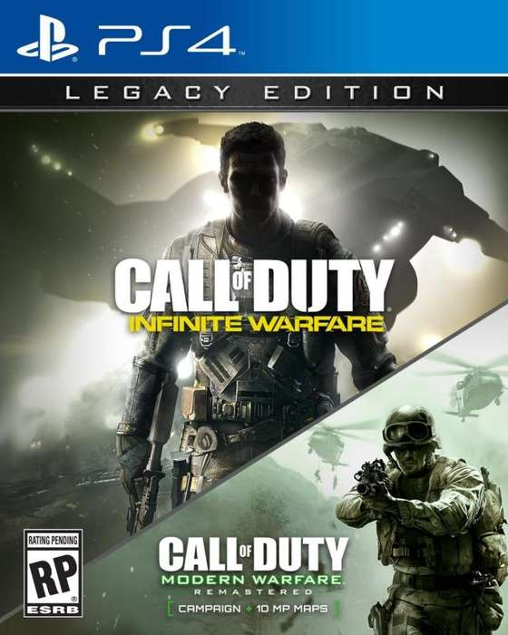 CALL OF DUTY LEGACY PS4