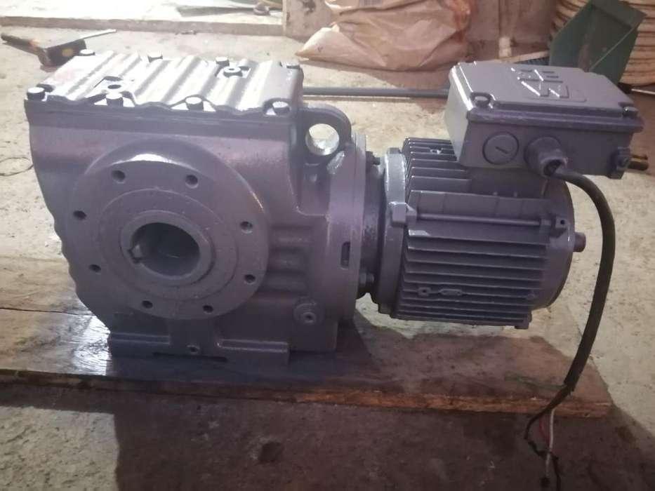 Motor con Motoreductor Trifasico 440v