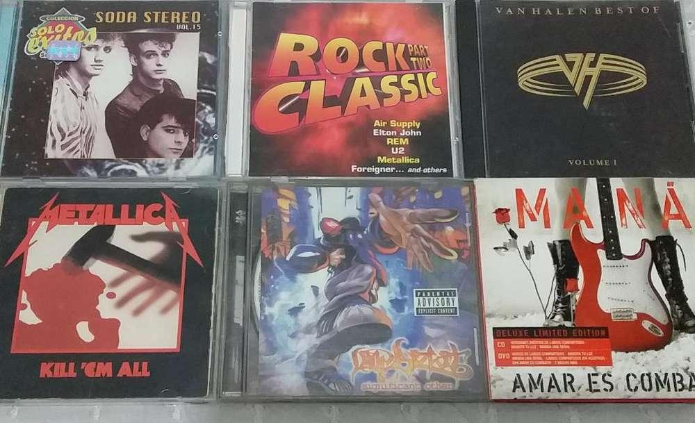 Cds de Rock Originales