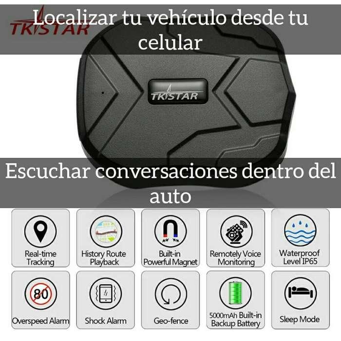 Gps para Vehículos,tracker con Audifonos