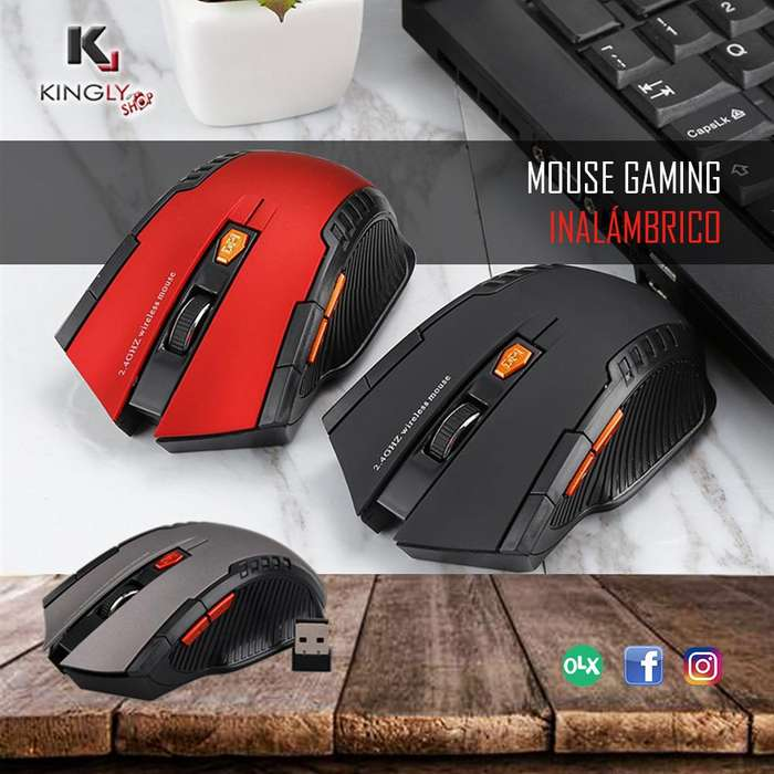 Mouse Gaming Inalámbrico Excelente Diseño Tienda virtual en Trujillo Accesorios Trujillo Kingly Shop