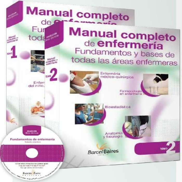 MANUAL COMPLETO DE ENFERMERIA, FUNDAMENTOS Y BASES DE TODAS LAS AREAS ENFERMERAS