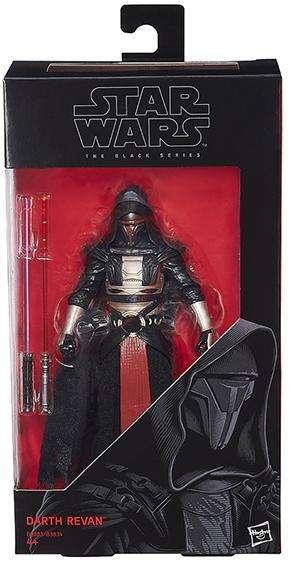Figura Star Wars The Black Series Darth Revan. Tamaño 16cm