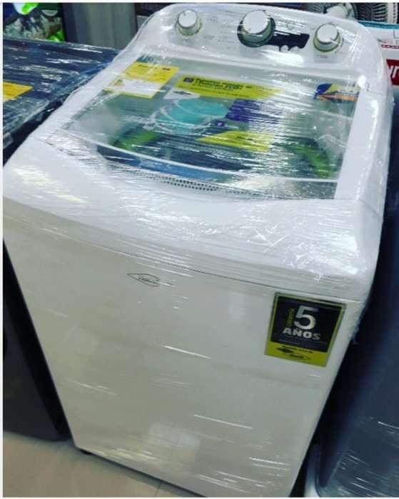 Lavadora Haceb de 16 Kg 5 Año de Garantí