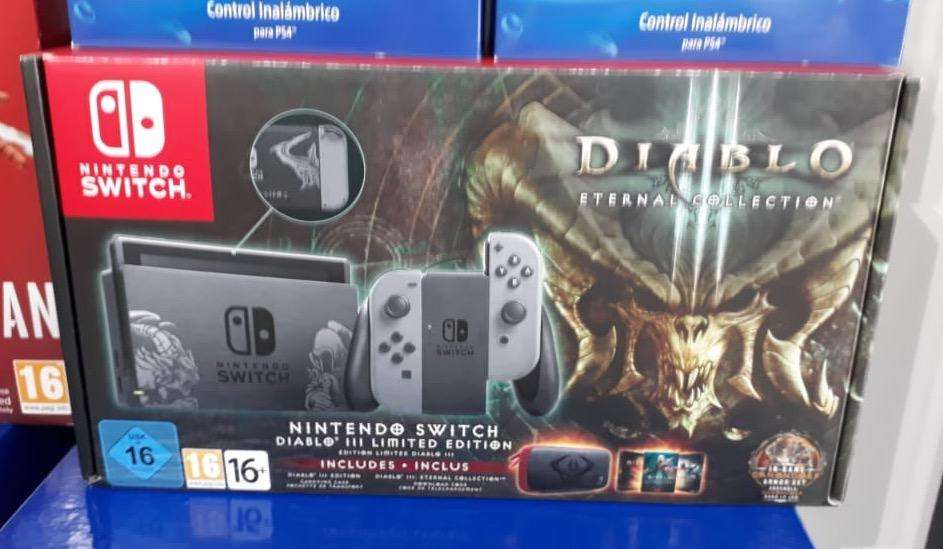 Nintendo Switch Edicion Limitada