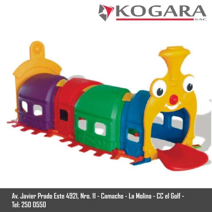 Túnel Tren Para Niños Nuevo