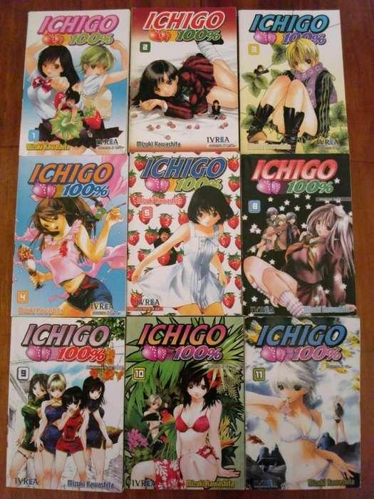 Lote De Mangas Ichigo 100 Mizuki Kawashita Ivrea Argentina