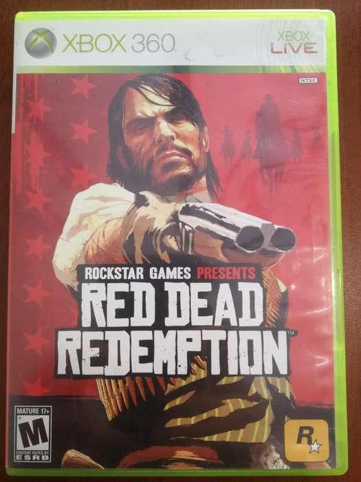 Juego Red Dead Redemption Xbox 360