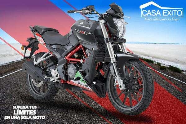 Moto Benelli TNT 250 250cc año 2018 Color Blanco / Negro / Rojo Casa Exito