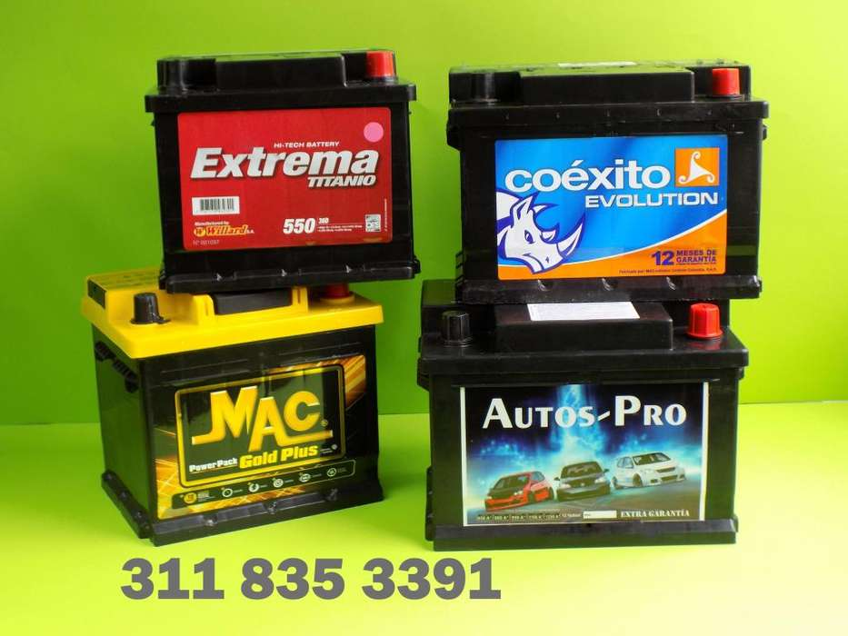 Baterías Carro, Campero, Camioneta Bus Camión, A Domicilio en Bogotá. Todo Auto. Mac Willard Bosch Duncan*