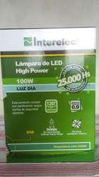 LAMPARA LED 100W. HI POWER INTERELEC