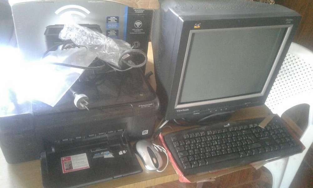 Monitor,impresora,teclado Y Mousse