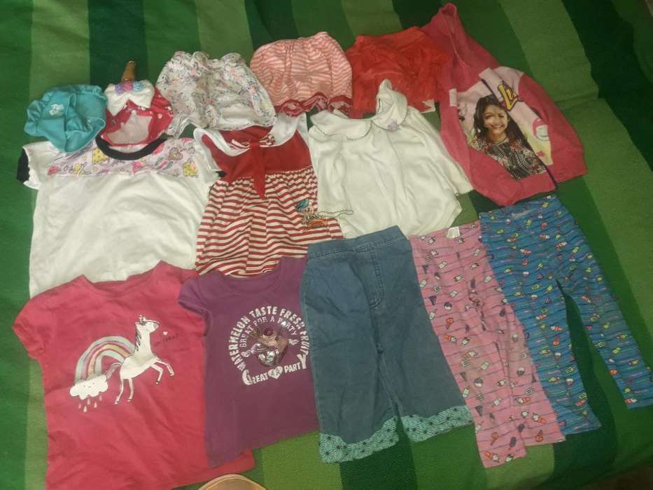 Lote D <strong>ropa</strong> para Niña D 1 a 2 Años