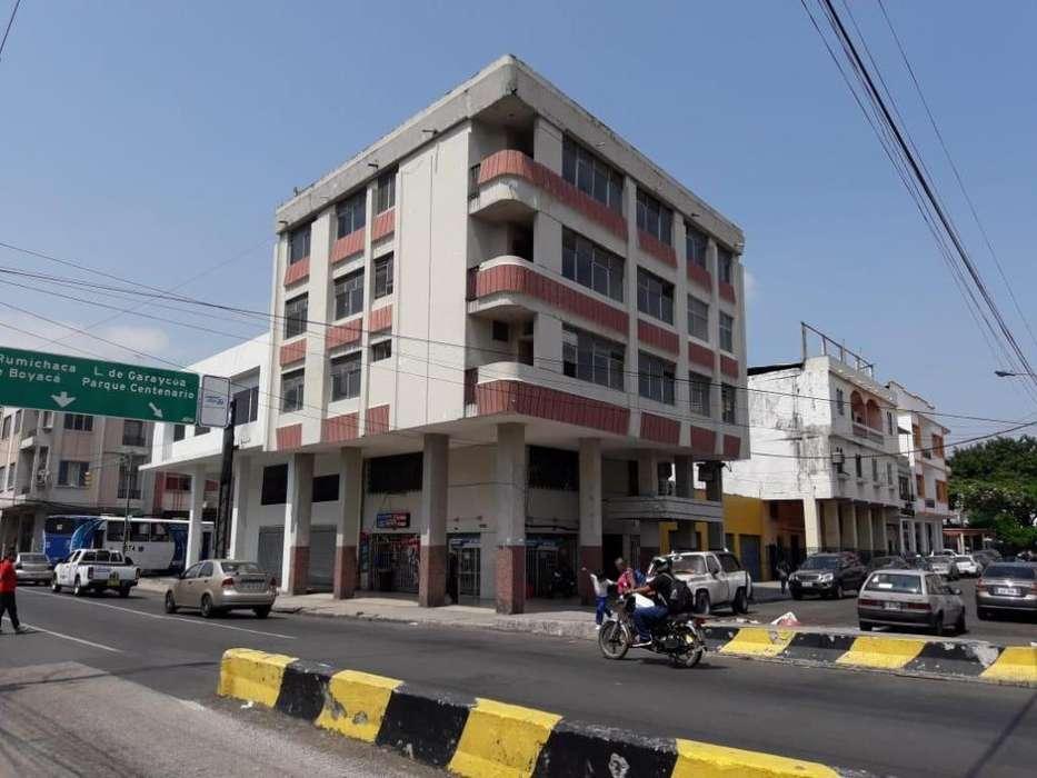 Venta de Edificio - Hotel - Fabrica, Manuel Galecio, Centro de Guayaquil - MA. Eugenia Recalde