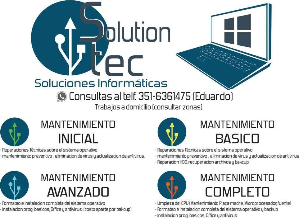 SOLUTION TEC SOLUCIONES INFORMATICAS
