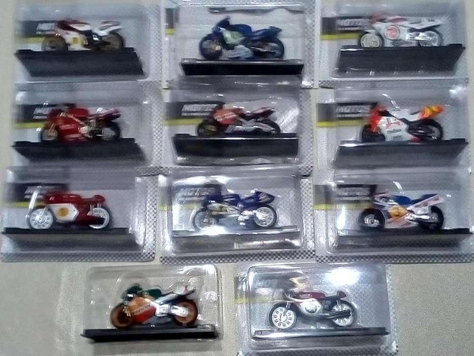 Motos de competición, de colección