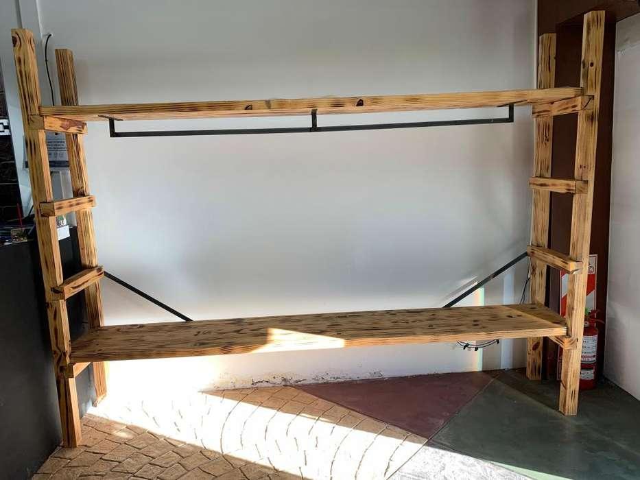 Mueble para negocio de ropa