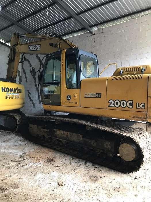 Escabadora John Deere 200C Lc
