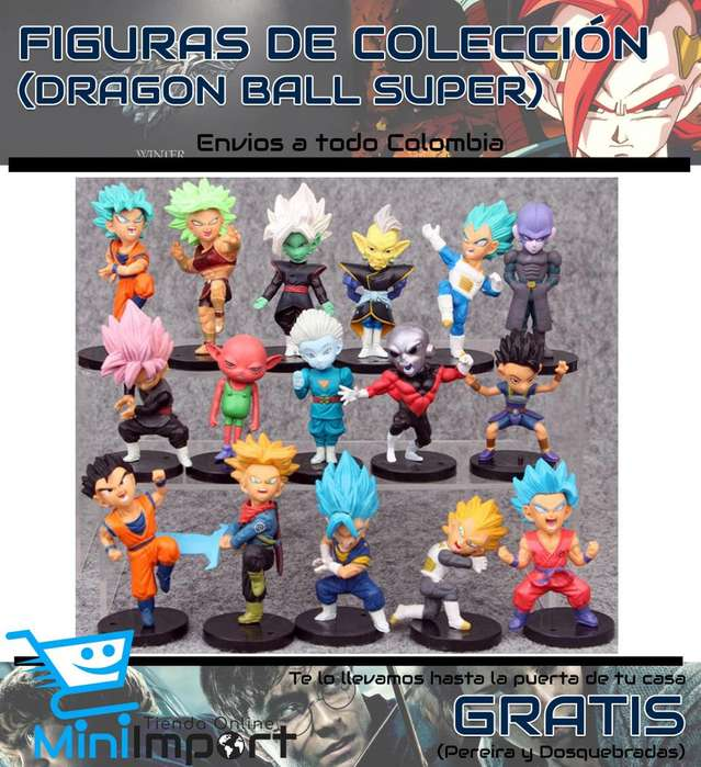 Figuras Coleccionables de Dragon Ball Super