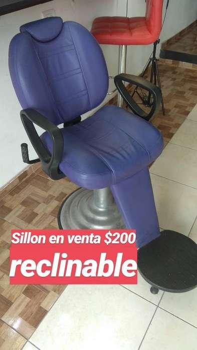 Vendo Sillon Reclinable Usado