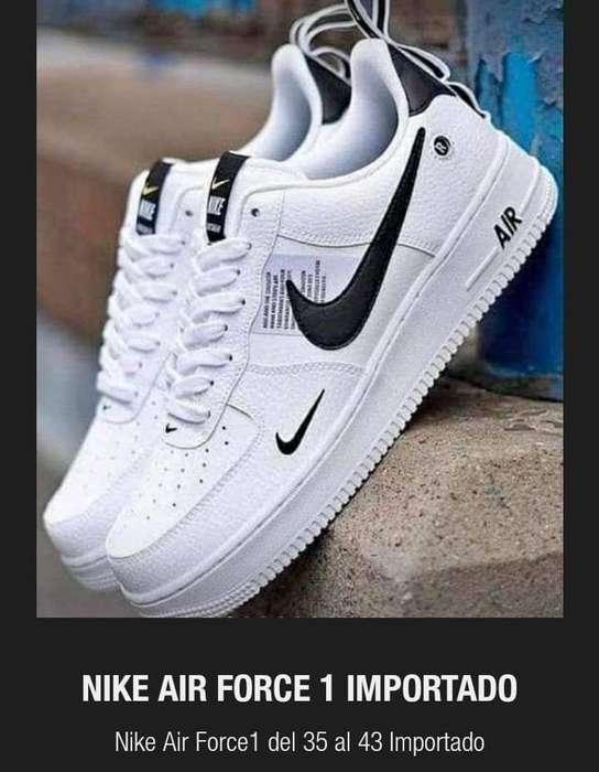 339b7545 Relevancia, Menor precio, Mayor precio. Nike Airforce pipa negra talle 42