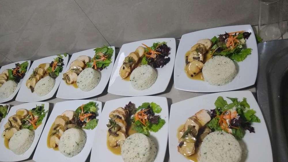 Parrillero Cocinero Paellas Bartender