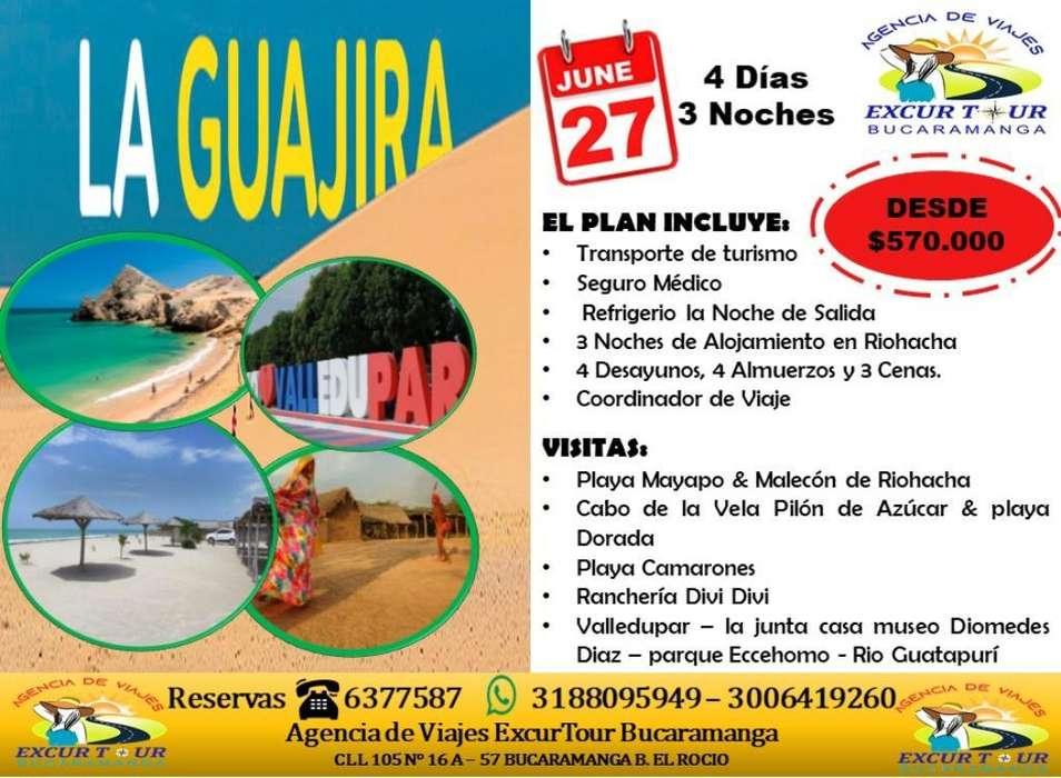 Tour Guajira desde Bucaramanga