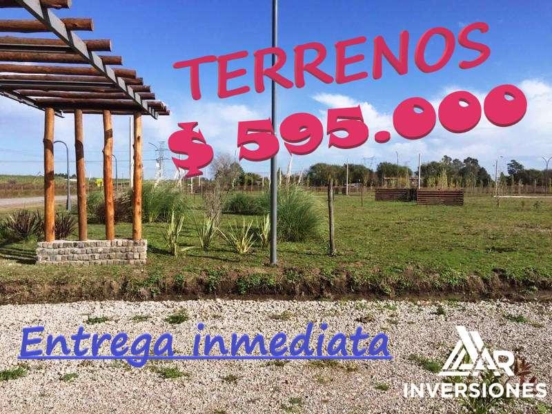 TERRENO EN ALVEAR - LOS TRONCALES DEL SUR - ENTREGA INMEDIATA