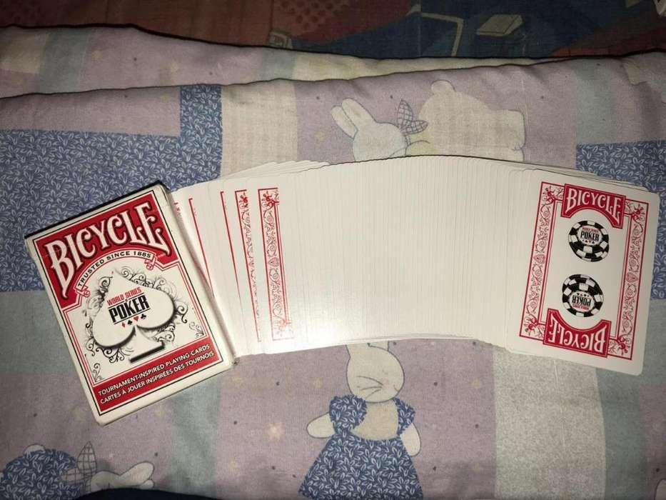 Mazo de Cartas Bicycle Rojo Nuevas