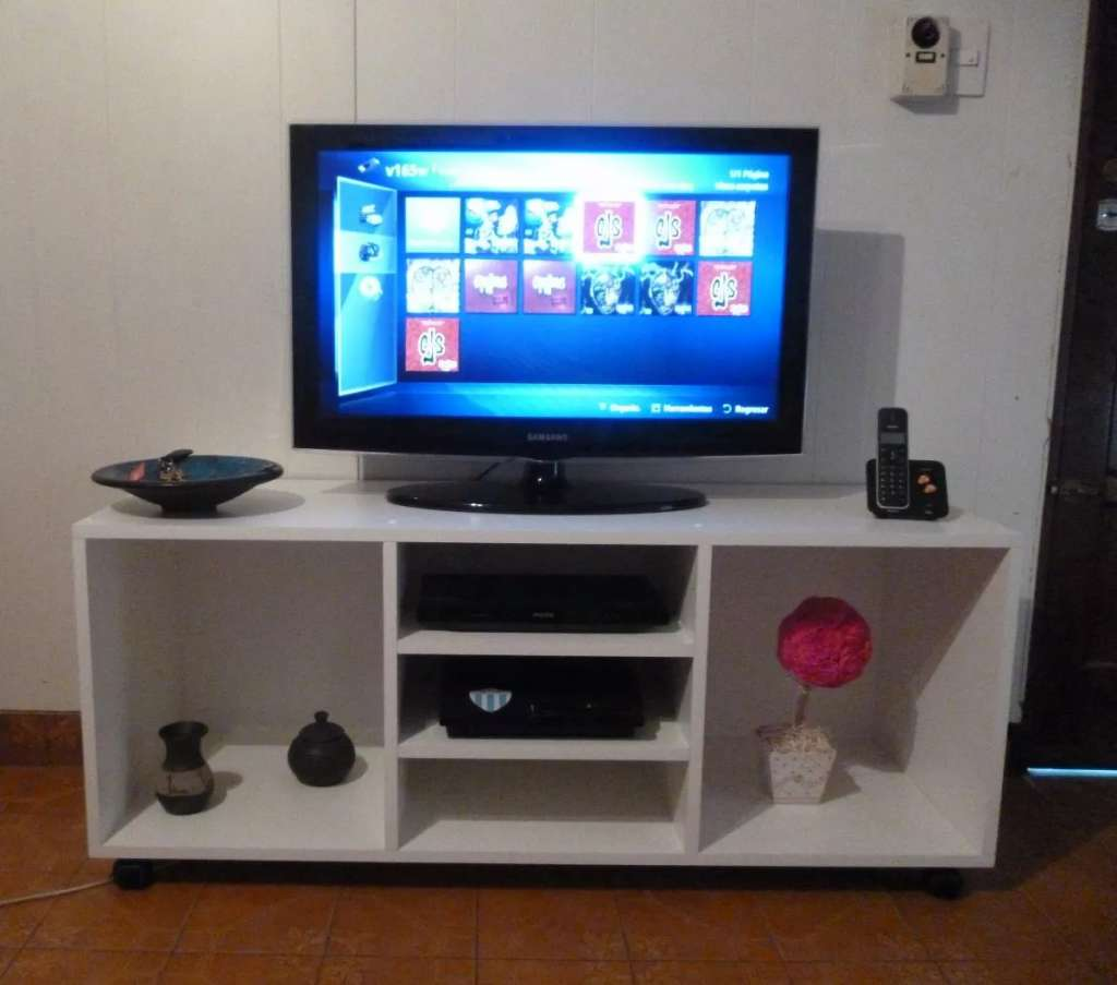 Mesa De Tv Lcd Led Audio Dvd Organizador