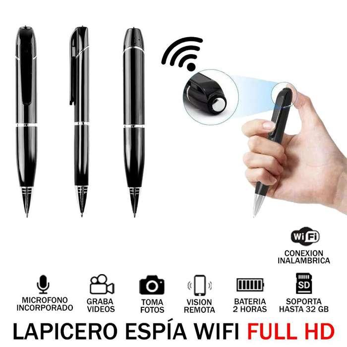 lapicero Full HD Wifi 32GB 2 Horas Camara Oculta