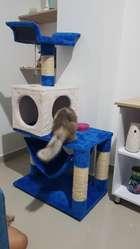 Rascador Gimnasio Para Gato Juguete