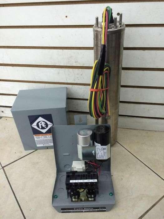 Venta e instalación de bombas sumergibles tipo lapicero para pozos mantenimiento de pozos, registros eléctricos