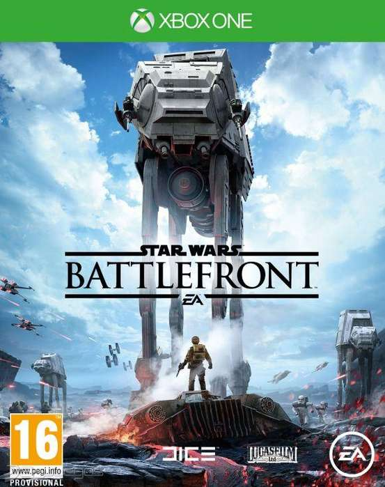 Star Wars Battlefront Xbox One, Físico