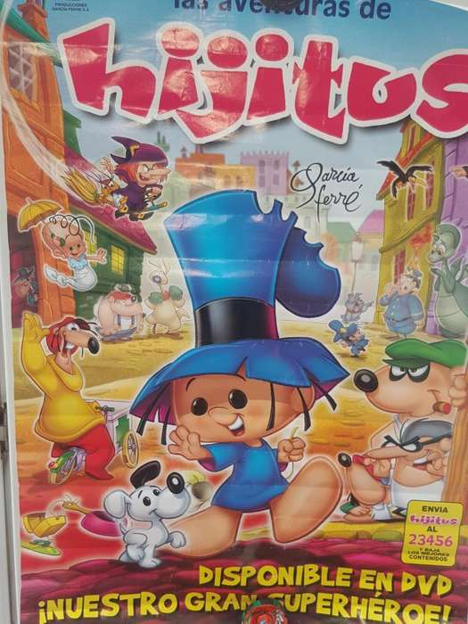 Poster Aventuras de Hijitus Original Usa