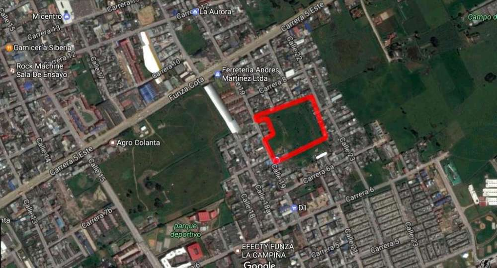 LOTE COMERCIAL FUNZA