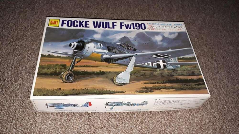 Maqueta para armar avion focke wulf fw190
