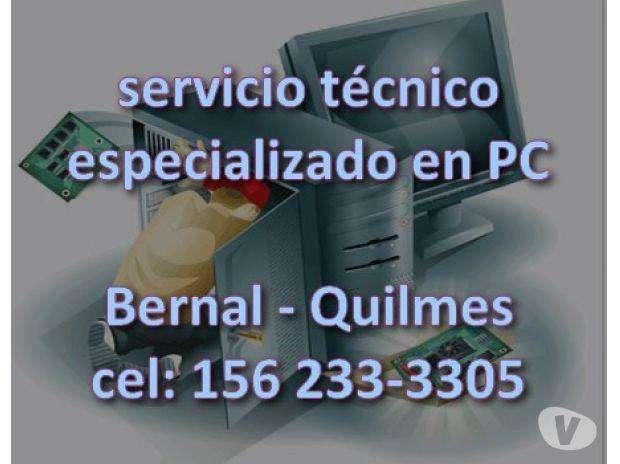 Servicio Tecnico Especializ PC y Redes Bernal Quilmes wifi 1551502656