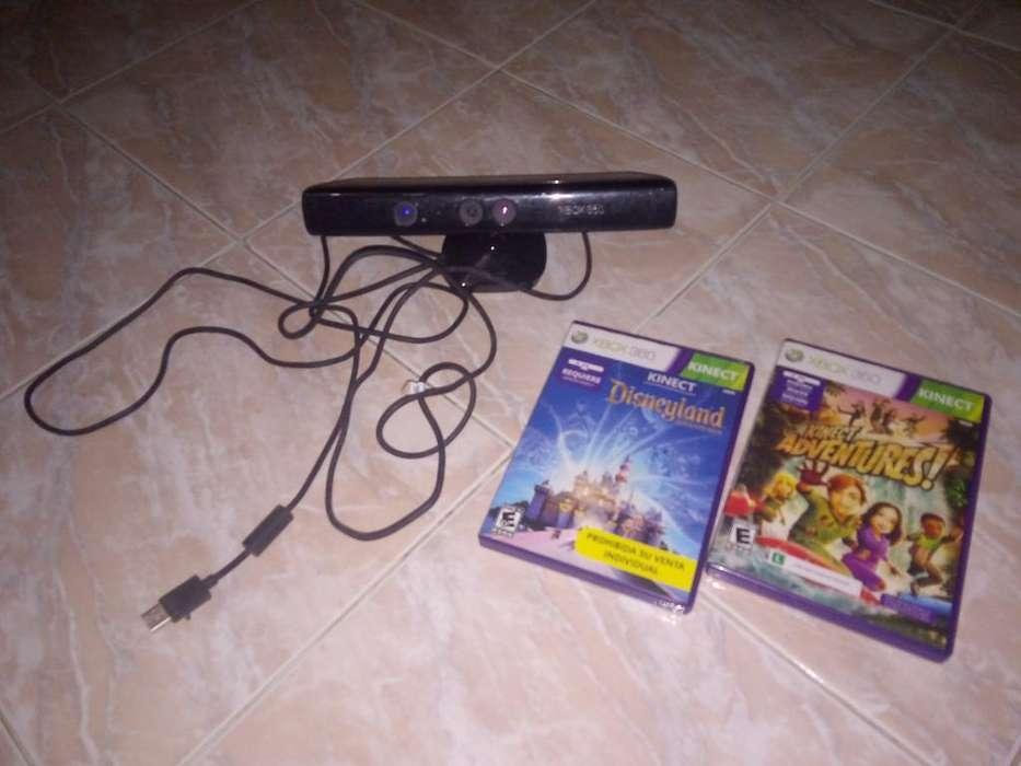 Vendo Kinect Xbox 360 Juegos ( Usado)