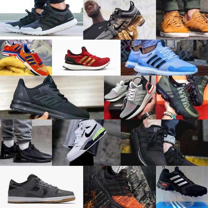 Zapatos Deportivos Nike Adidas Boost