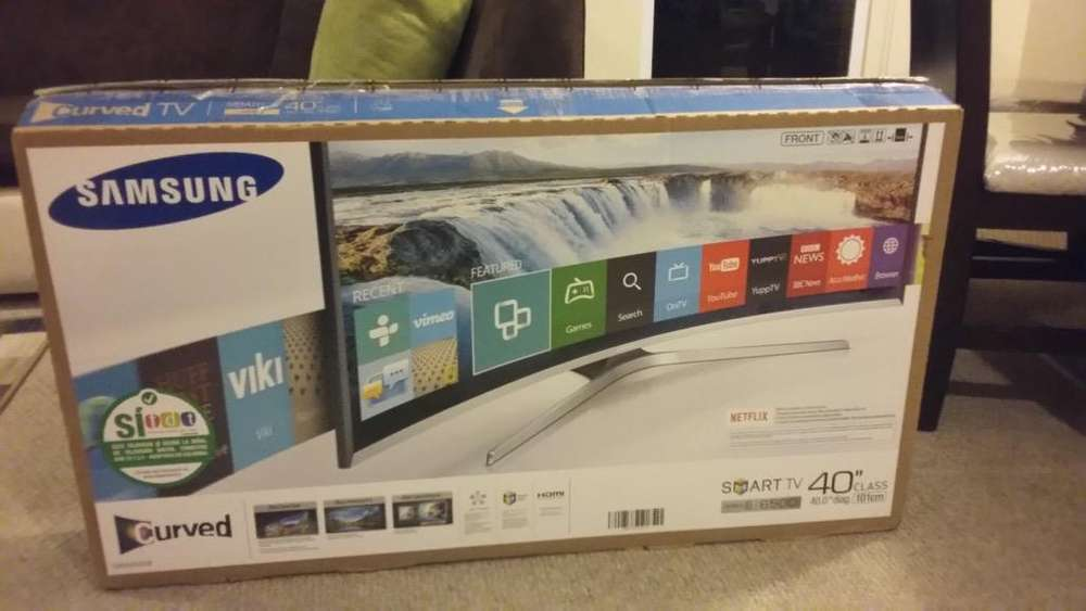 Samsung Smart Tv Curved 40 Pulgadas