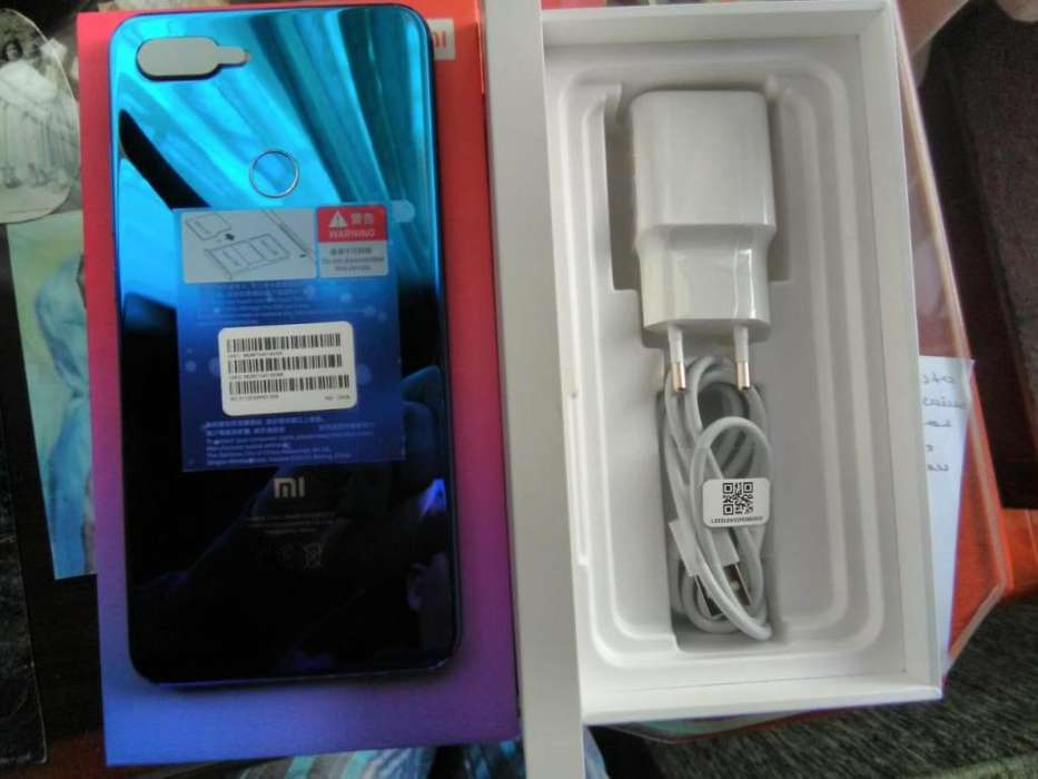 Xiaomi Mi 8 Lite 6gb 128gb Aurora Blue